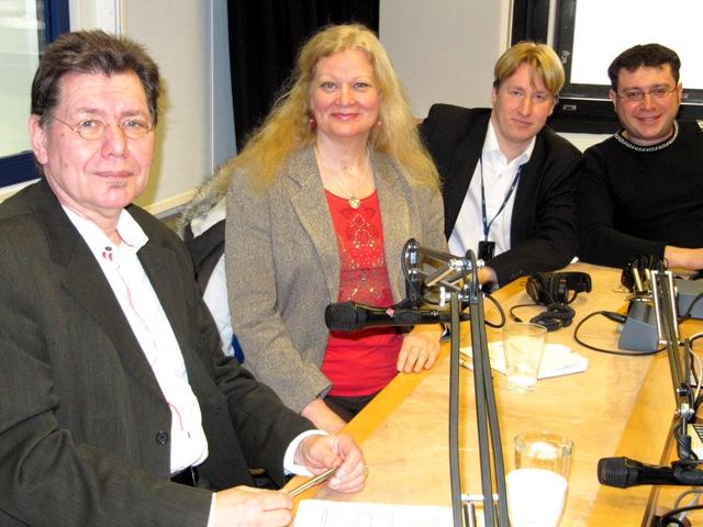 Gerd-Peter Löcke, Susan Haraldson, Rikhard Husu och Ilya Spiegel